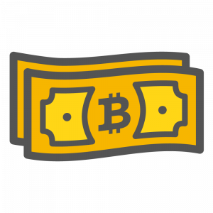 Trade bitcoins without verification